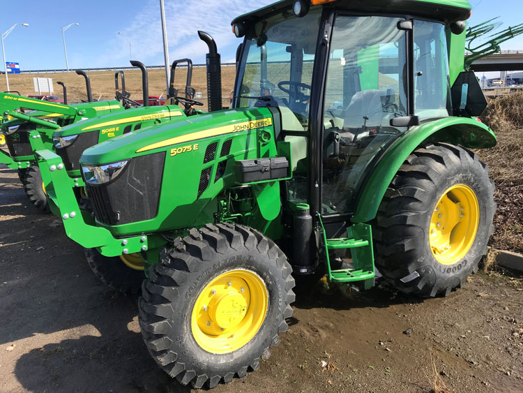 Model Year 2018 5E Tractors Now Loader Ready at P&K