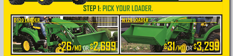 Build Your Own Tractor Package - P&K Midwest
