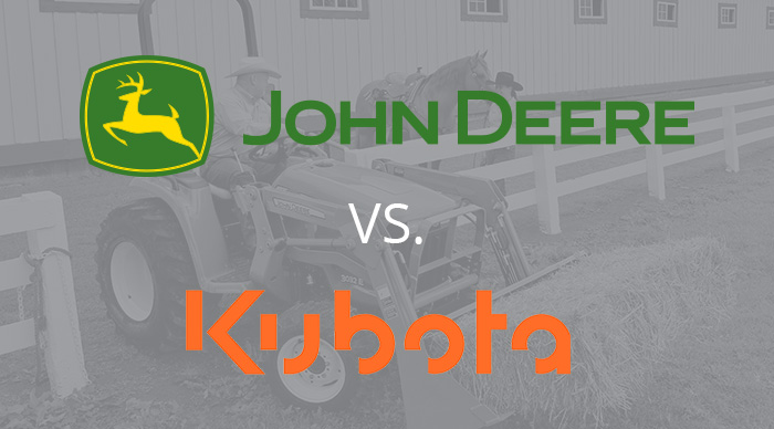 John Deere 5E Series vs. Kubota M6000 Series