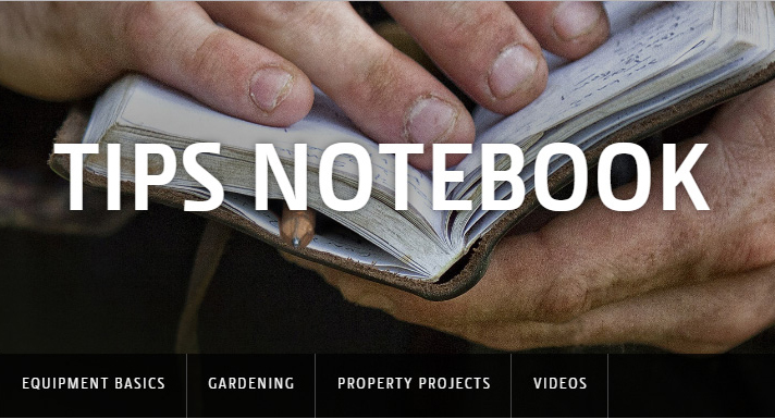 Tips & Tricks Notebook from John Deere