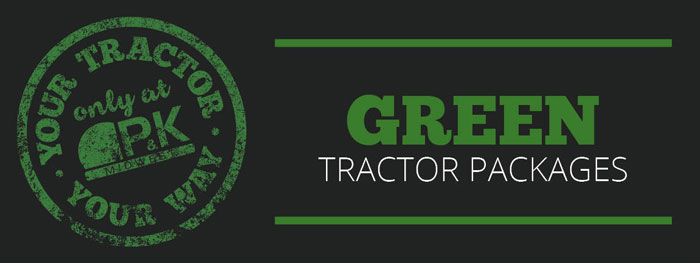 Green Utility Package- Your Tractor Your Way only at P&K