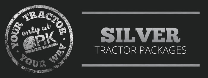 Silver Utility Package- Your Tractor Your Way only at P&K