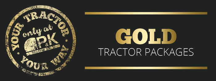 Gold Utility Package- Your Tractor Your Way only at P&K
