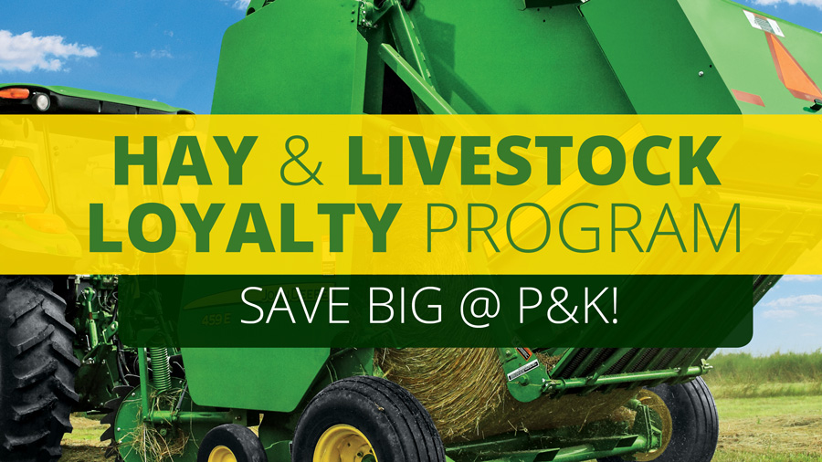 Hay & Livestock Loyalty Program