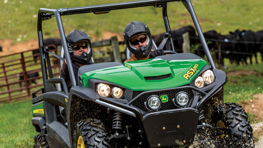 Get 0% for 48 month financing on HPX, XUV, & RSX Gator Utility Vehicles at P&K!
