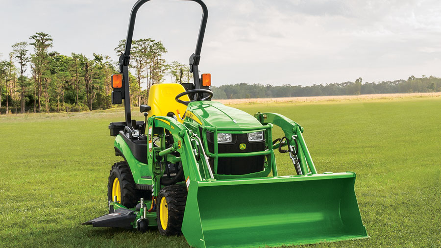 Get Your Tractor Your Way at P&K! 1023E Bronze Mowing Package for only $192 per month!
