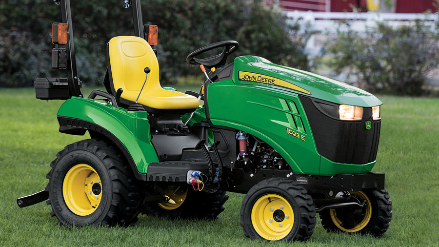 John Deere 1023E Sub-Compact Utility Tractor for only $9,499 or $94.99 per month
