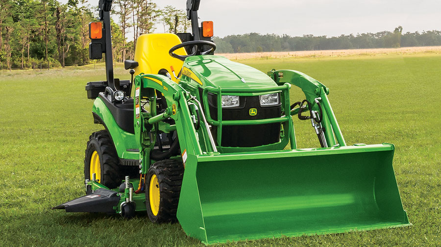 Get Your Tractor Your Way at P&K! 1025R Silver Mowing Package for only $223 per month!