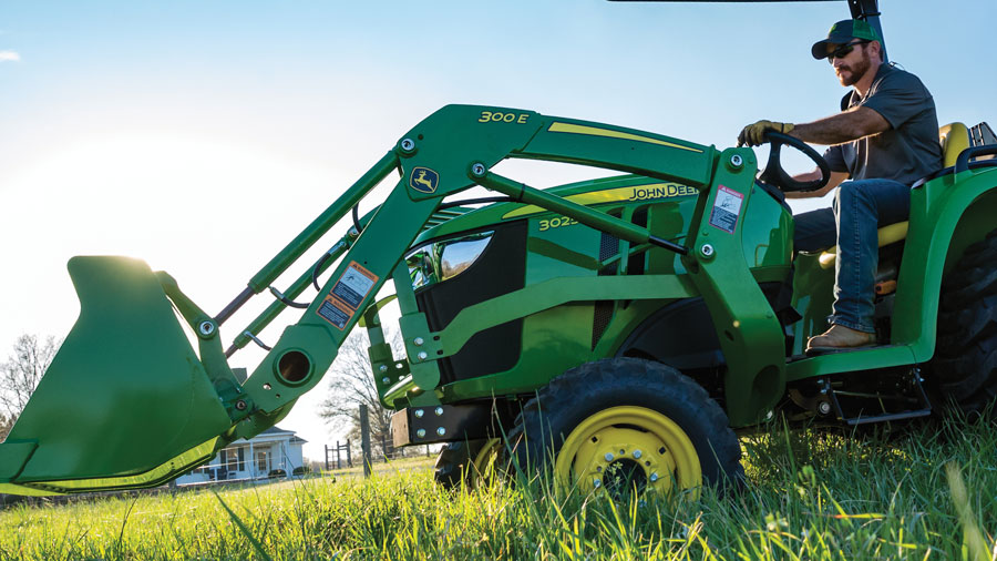 Get Your Tractor Your Way at P&K! 3025E Green Package for only $222 per month!