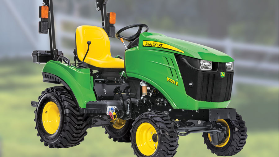 Get a 1023E Sub-Compact Utility Tractor for $94 per month or $9499 cash plus free delivery at P&K!