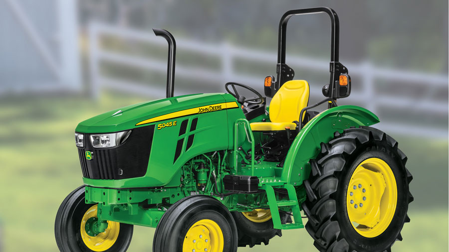 Get A 5045E MFWD Tractor Only for $23,499 cash price or only $239 per month!