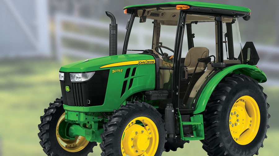 Get A 5075E MFWD Tractor Only for $39,799 cash or only $402 per month!