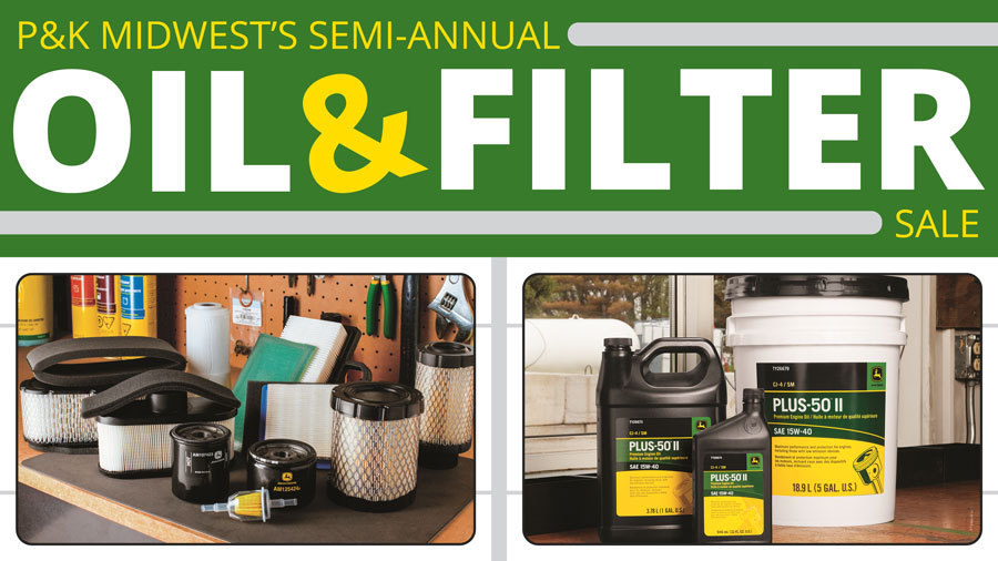P&K Midwest's Semi-Annual Oil & Filter Sale is Going on now!
